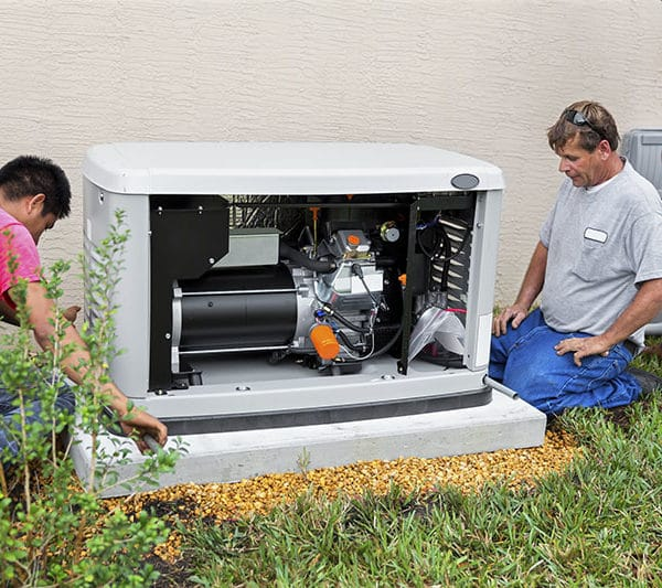 installing a 17 day whole house emergency generator for hurricane season.  rr