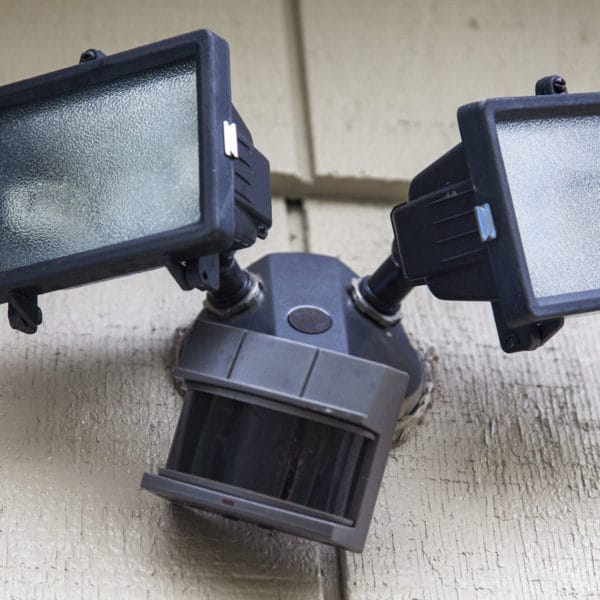 Outdoor Electrical Outlet Or A Motion Sensing Security Light, Includes  Labor And Materials