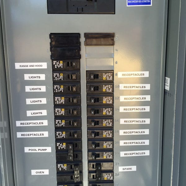 89 Circuit Breaker Panel Labeling And Home Electrical